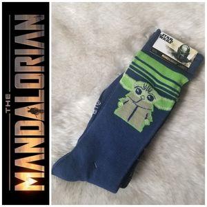 2PK 🌌 Mandalorian Crew Socks